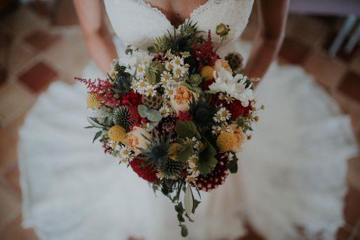 bouquet mariée poppy figue