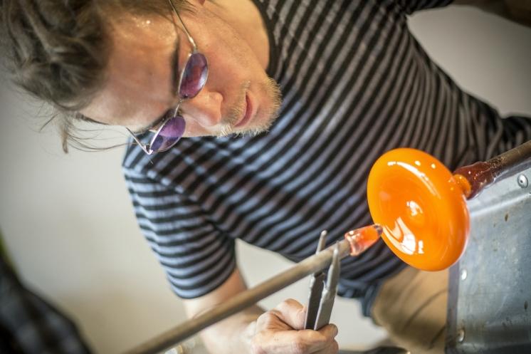 TiPii atelier verre soufflé makingof petite ©francksinquin